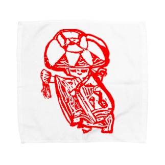 赤花の記憶 Towel handkerchiefs