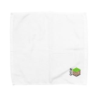 NCG・草ブロック Towel handkerchiefs