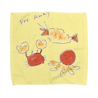 ふらいあうぇい Towel handkerchiefs