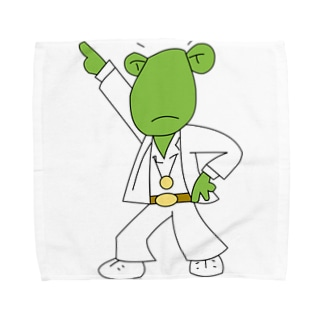 Patmaru WorksのDISCO FROGBERT Towel handkerchiefs