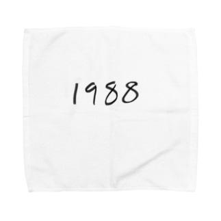 1988 Towel handkerchiefs