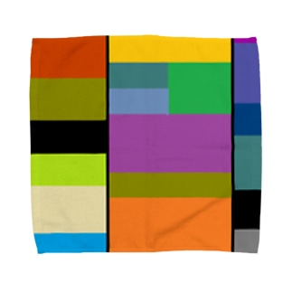 色とりどり2 Towel handkerchiefs