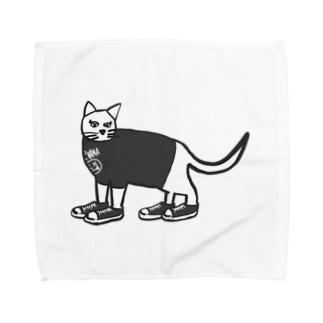 ねこにコバーン Towel handkerchiefs