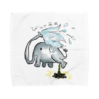 スプラッシュぞうさん Towel handkerchiefs