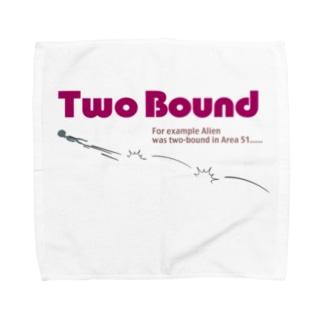 ツーバウンド エイリアン Towel handkerchiefs
