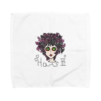 メデューサ Towel handkerchiefs