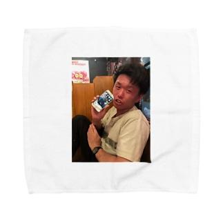 ニンゲンのタロウ Towel handkerchiefs