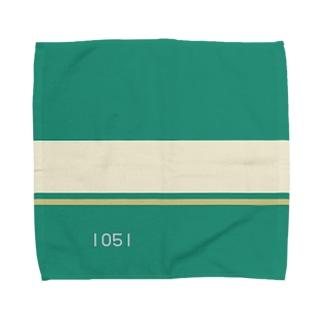 【青ブタっぽい】江ノ電1000形1051号車っぽい Towel handkerchiefs