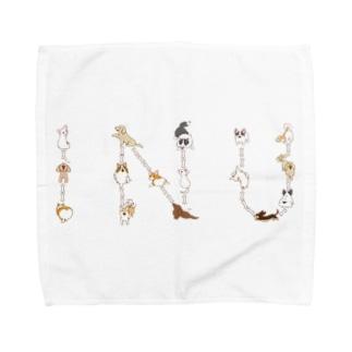 INU Towel handkerchiefs