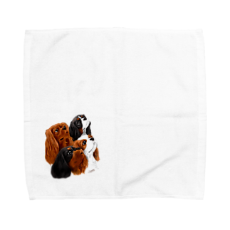 Shimiyasuのキャバリア№08 4Colors Towel handkerchiefs