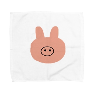 ブタウサギーナ Towel handkerchiefs