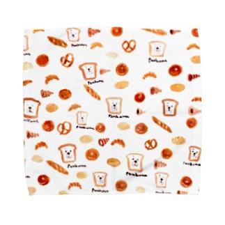 スウィートなパンくまさん Towel handkerchiefs