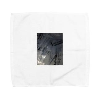 病み系 Towel handkerchiefs