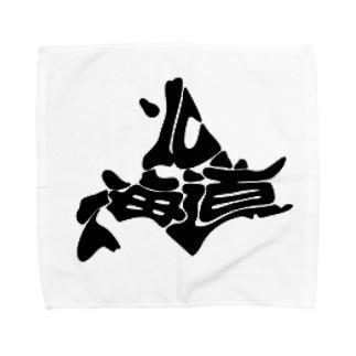 蝦夷地くん Towel handkerchiefs