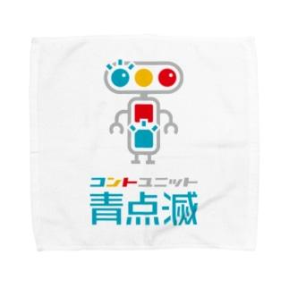 キャラクター+文字 Towel handkerchiefs