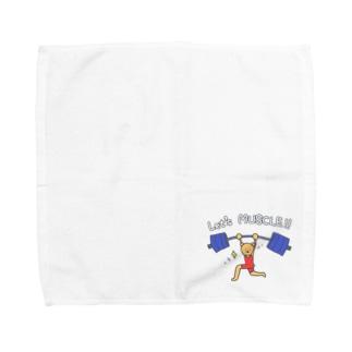 さあ筋肉!! Towel handkerchiefs