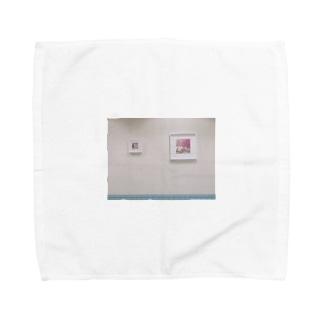 お洒落な壁 Towel handkerchiefs