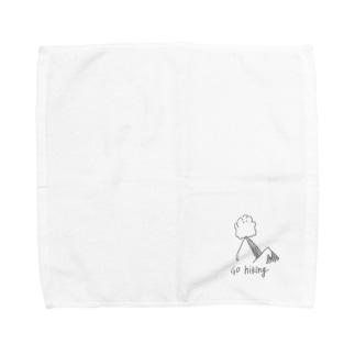 go hiking Towel handkerchiefs