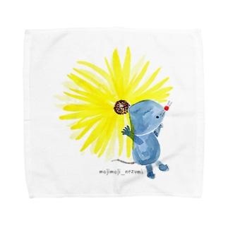 らいおんになりたいもじもじねずみくん Towel handkerchiefs