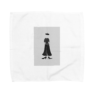 くーるびゅーてぃー枠あり Towel handkerchiefs