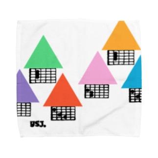 【ギター】住宅地・コードダイアグラムハウス Towel handkerchiefs