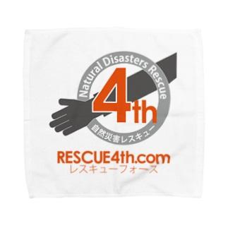 自然災害レスキュー RESCUE4th Towel handkerchiefs