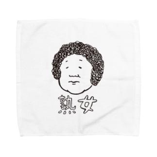 熟女(白字) Towel handkerchiefs