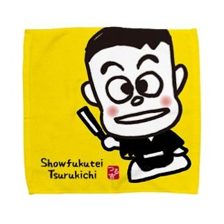 笑福亭つる吉くん Towel handkerchiefs