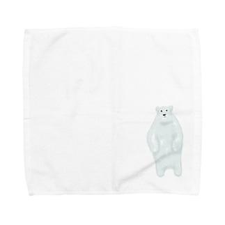 しろくま Towel handkerchiefs