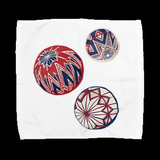akaneyabushitaの 【日本レトロ#02】手まり Towel handkerchiefs