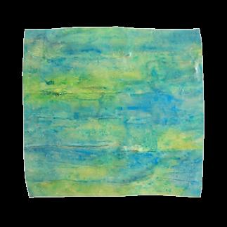 immrの感覚の森のおく Towel handkerchiefs