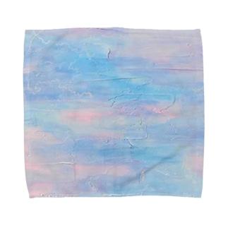 白い春風 Towel handkerchiefs