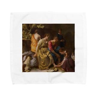ディアナとニンフたち / フェルメール(Diana and her Companions 1654) Towel handkerchiefs