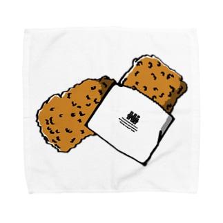 金星のおみせのコンビニチキン Towel handkerchiefs
