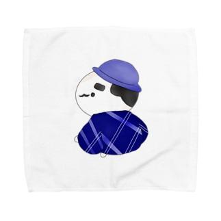 浴衣のおじさん Towel handkerchiefs
