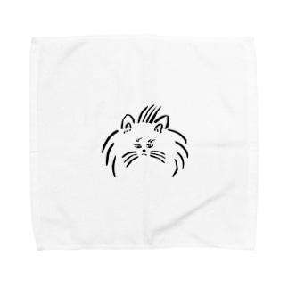 ねこちゃ~ん Towel handkerchiefs