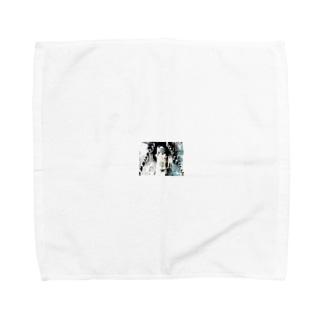domino. Towel handkerchiefs