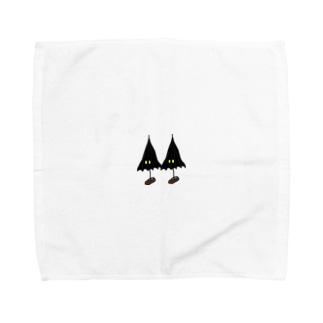 こうもり傘小僧ツヴァイ Towel handkerchiefs