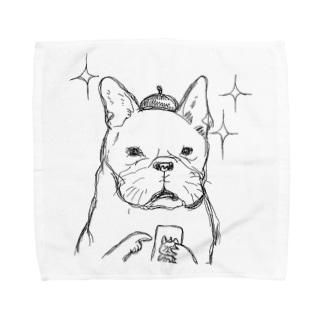 ぴこぴこみるく Towel handkerchiefs
