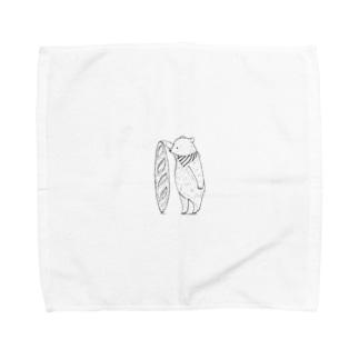 バケットとせえくらべ Towel handkerchiefs