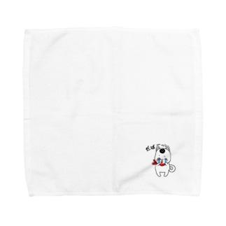 泣き泣きわんこ Towel handkerchiefs