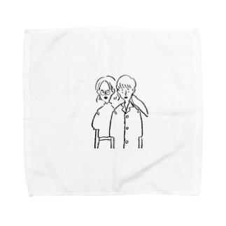 girls Towel handkerchiefs