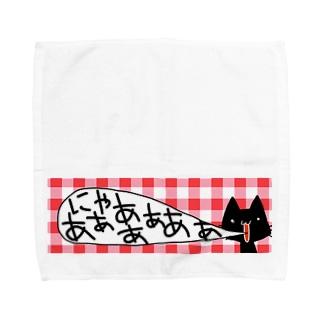 めっちゃなくねこ Towel handkerchiefs