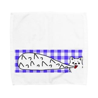 めっちゃいきのあらいいぬ Towel handkerchiefs