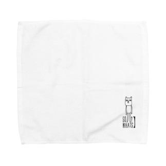 ダカラ何? Towel handkerchiefs