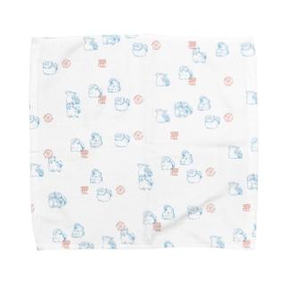 SHINJU-FIVE:JapaneseAnimals Towel handkerchiefs