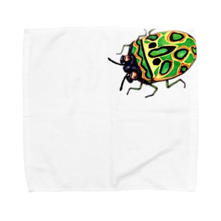 ガスマスクカメムシ Towel handkerchiefs