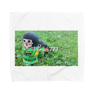 kimon777 Towel handkerchiefs