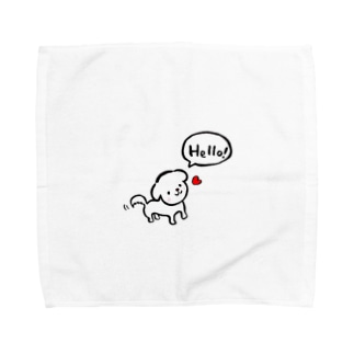 マルチーズ♡ Towel handkerchiefs
