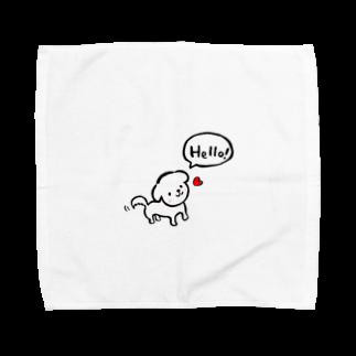 .michiko.のマルチーズ♡ Towel handkerchiefs